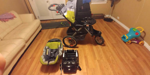 Baby Trend Jogger and Car Seat