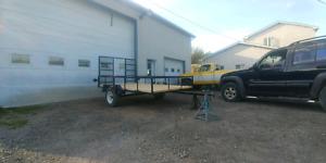 Remorque utilitaire 6' x 10'     Flambant neuf     (trailer)