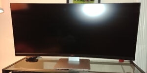 34 inch Ultra wide curved monitor
