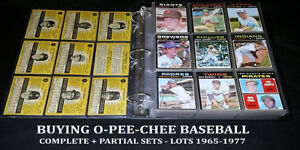 1900-70's Old Baseball Hockey sports cards sets lots case CASH$$