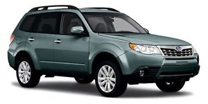 2012 Subaru Forester 2.5X Limited with Navigation
