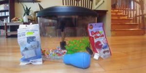 Petit aquarium à donner ! Free aquarium !