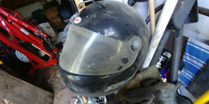 Vintage 1975 Bell Star helmet for display