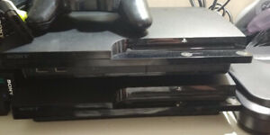 PS3 with controller