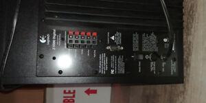 Logitech Z5500 THX Certified 5.1 Digital Surround Sound Speaker