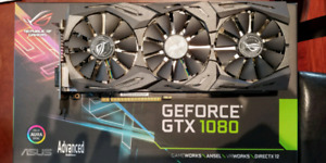 ASUS STRIX GTX 1080 A8G GAMING video card