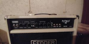 Fender Rumble Bass Amp - 75 Watt, requires new circuitboard