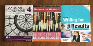 Focus on GRAMMAR 4, Grammar For Writing 3 and Writing for Result