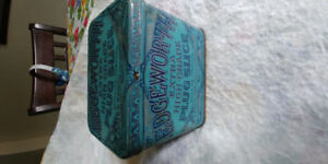 ASSORTED ANTIQUE, VINTAGE, COLLECTIBLE TINS - $5 EACH