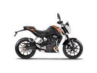KTM DUKE 125 ABS 2016