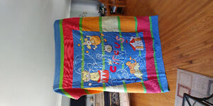 Single bed quilt and sham