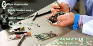 DigiZone, réparation téléphone MOBILE phone repair