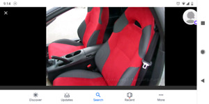 Celica red seat