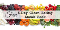 Fun FREE Clean Eating Group Online (5 Days)