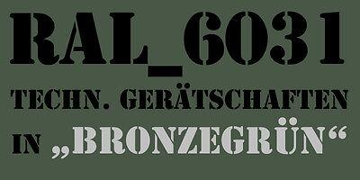 bronzegrün