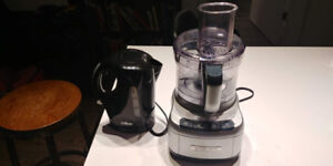Food processor, kettle - individual or together