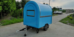 Catering Trailer Ice Cream Trailer Burger Van with Awning
