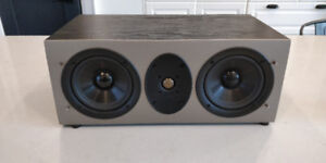 """Athena AS-C1 Dual 5.5"""" 2-Way Center Channel Speaker"""