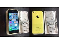 IPHONE 5C yellow MINT condition like new😀👍 on O2 tesco Giffgaff (Chris 07462496929)