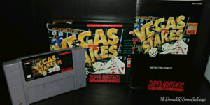 Vegas Stakes for the SNES