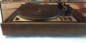 Dual 1228 turntable PLUS stereo and double cassette player/rec