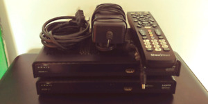 2 hd satellite receivers Shaw Direct