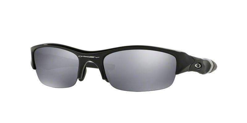 f1abde7ed3a Oakley Men s Gradient Flak Jacket 03-881 Black Wrap Sunglasses for ...