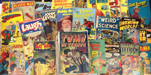 """Lot of Comics Books  Lost of """"Issue #1's"""" (50-80s)"""