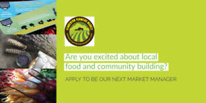 Farmers Market Manager Needed (Pemberton)