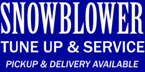 Snowblower repair - quick and reliable service