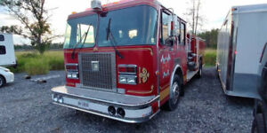 1991 Spartan Fire Truck w/6V92 400HP Detroit, New Bodystyle