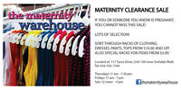MATERNITY WEAR SALE
