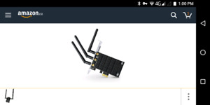 TP-Link Archer T9E AC1900 Dual Band Wireless PCI Express Adapter