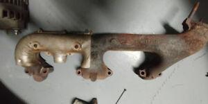 passanger exhaust manifold - first gen small block chevy