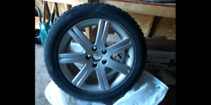 """17"""" Audi A6 mags (also fits Volkswagen and other cars) $180"""