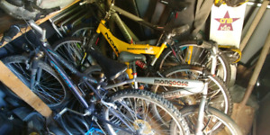 Various bmx and mountain bikes for sale $ 40 to 100