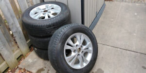 Toyota Rims and Tires 205 65 15