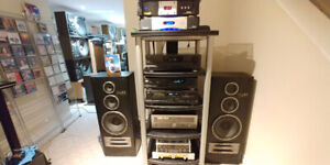 Technics Stereo System, GX-190, SL-PG350, RS-TR252, A31 speakers