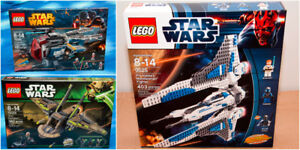 Lego Star Wars Clone Wars era Ships from 2012-14 New/Sealed
