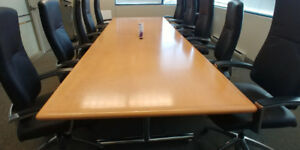 Board Room Conference Table (chairs not included)