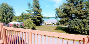 Newly Renovated 2 Storey Apartment 1 Bedroom + Den with Deck.