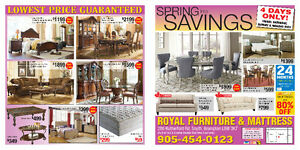 Royal Furniture month end sale