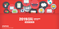 2019 Staples Business Expo, Vancouver