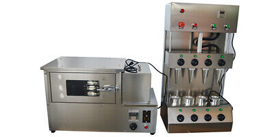 Used Commercial Pizza Cone Forming Making Maker Machine Rotational Pizza Oven