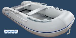 2018 New Aquamarine 10 ft inflatable boat with ALUMINUM FLOOR
