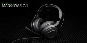 Razer Man O War 7.1 utiliser 5x total.