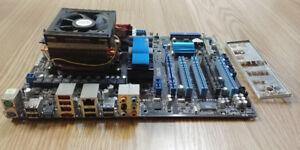Motherboard:M4AB7TD Evo, CPU:AMD Phenom II x4 965, 4GB RAM:DDR3