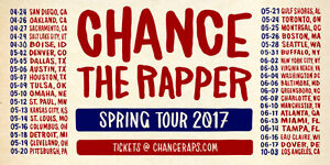 Chance the Rapper Toronto May 24th 2017 (Center of Venue)