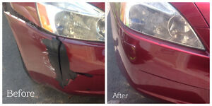 All Plastic Bumper Repair and Paint