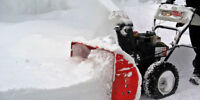 Snow Removal Seasonal /Monthly *DT - SOUTH - EAST - WEST - NORTH